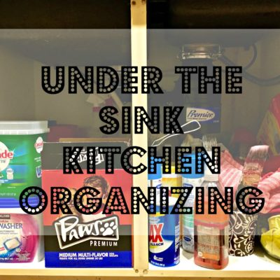 Under the Sink Kitchen Organizing