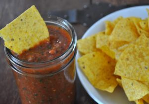 blender-salsa Cinco-De-Mayo Chips-and-salsa