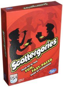 Scattergories games