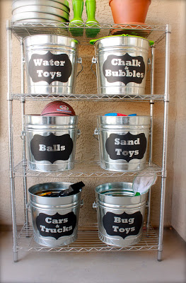 domestic-charm-galvanized-bucket-storage-with-labels