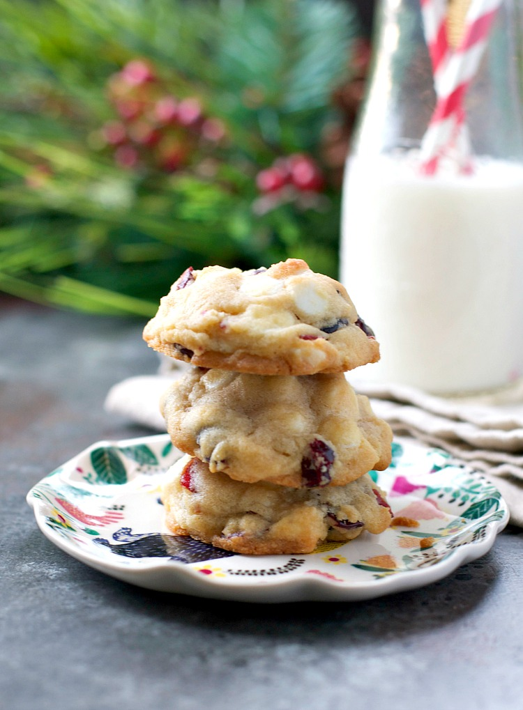 white-chocolate-cranberry-christmas-cookies