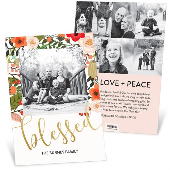 Tis the season christmas card inspiration finding deals on holiday pear tree christmas cards m4hsunfo