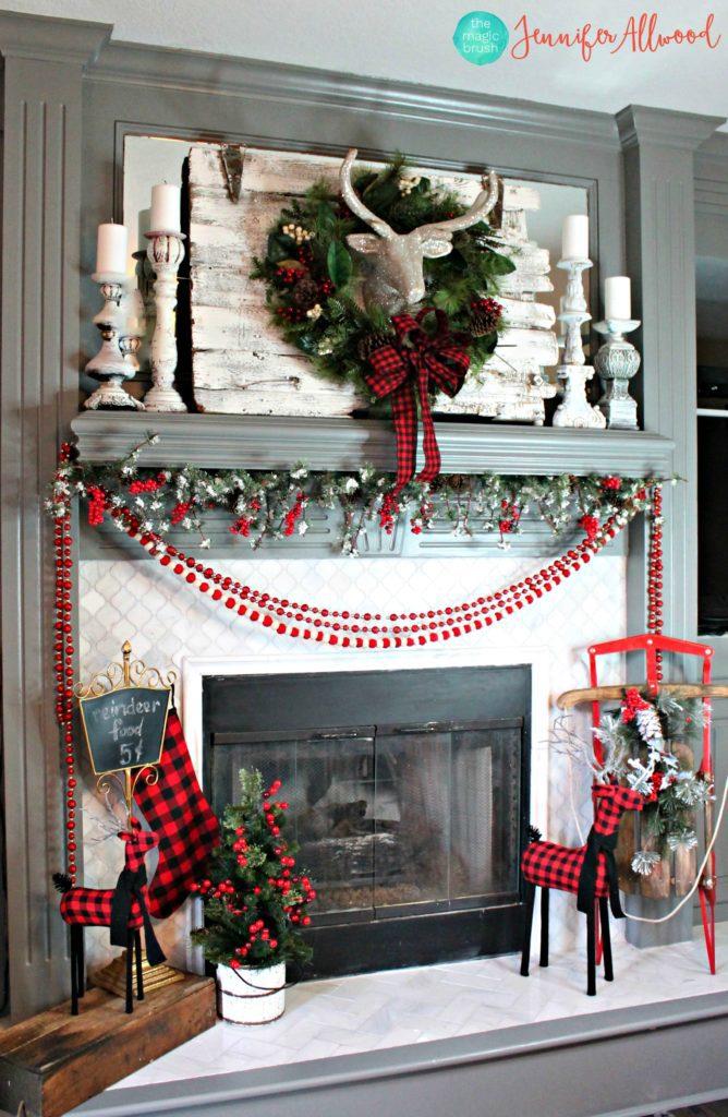 christmas-mantel