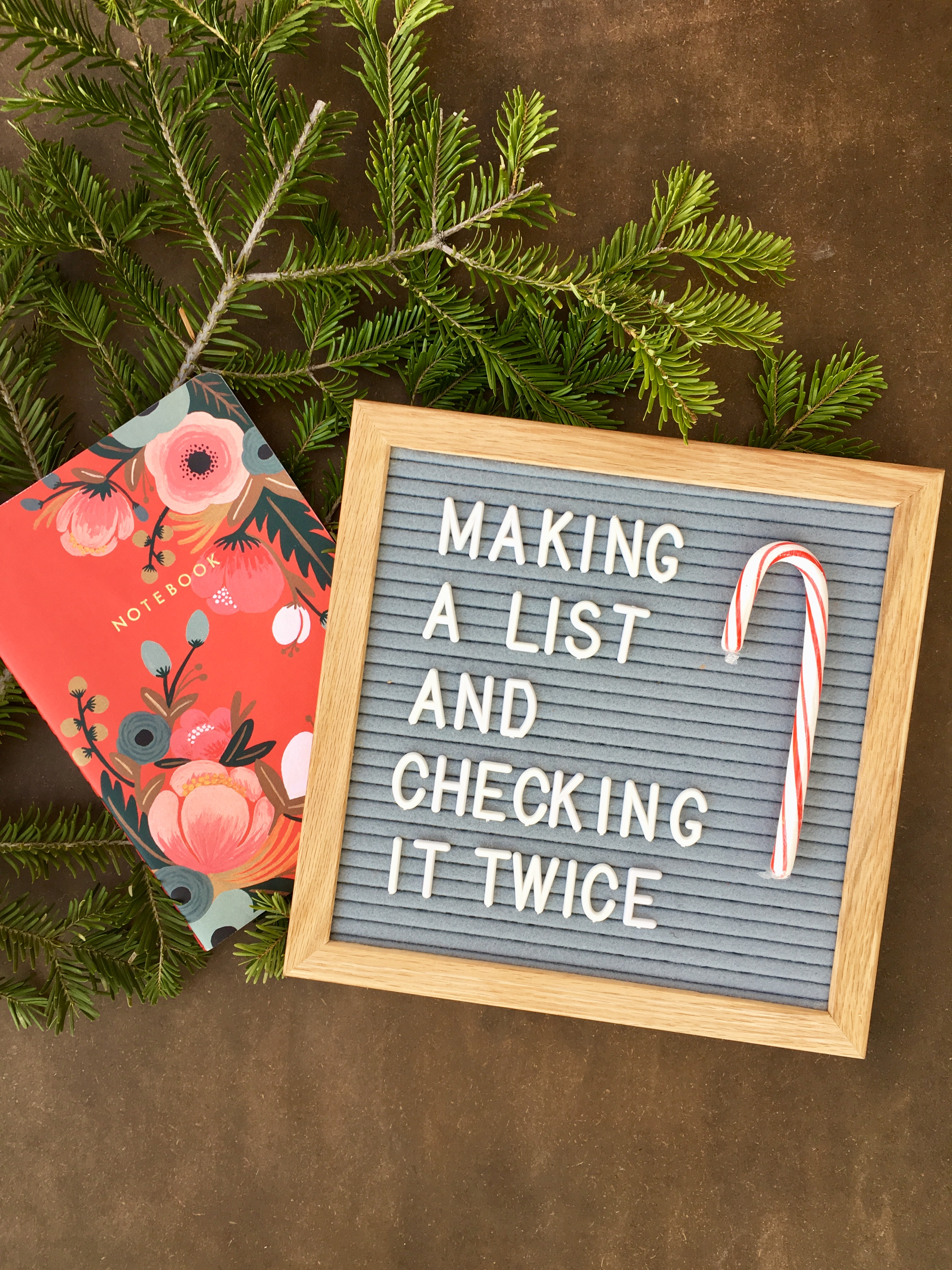 Making A List And Checking It Twice – Getting Organized This Holiday Season