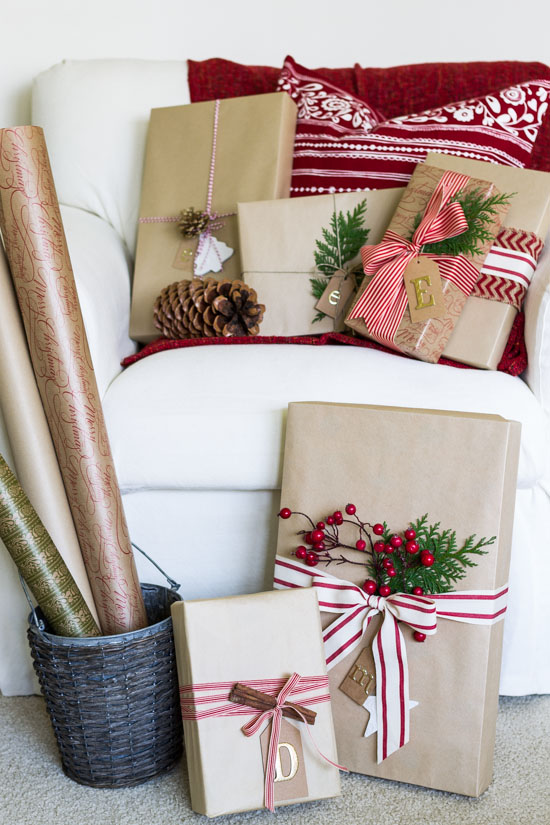 christmas-wrapping-using-natural-elements