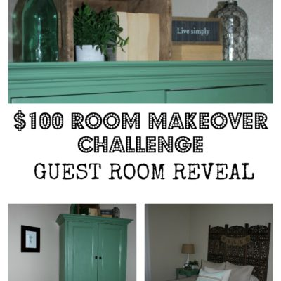 $100 Room Makeover Challenge | Week 5 | Guest Room Reveal
