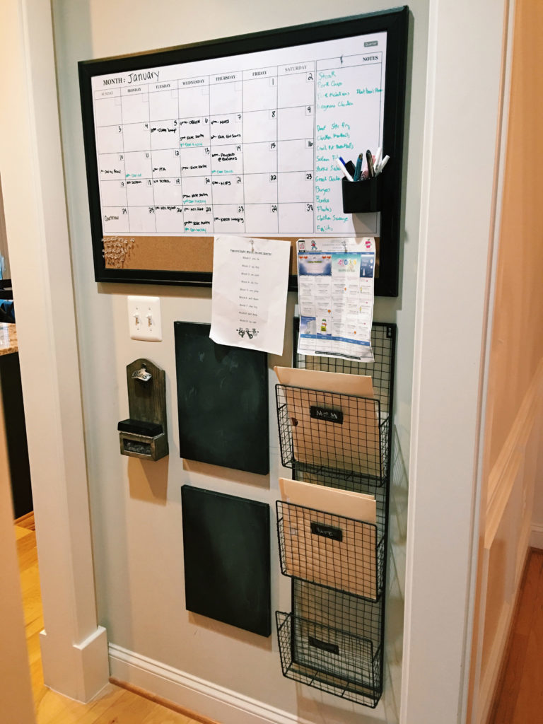 diy-kitchen-command-center