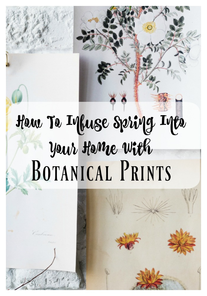 How To Infuse Spring Into Your Home With Botanical Prints