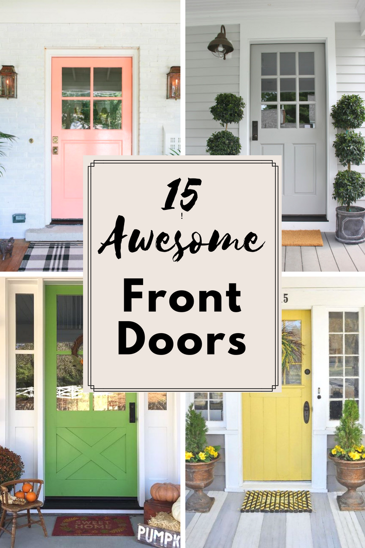 15 Awesome Front Doors