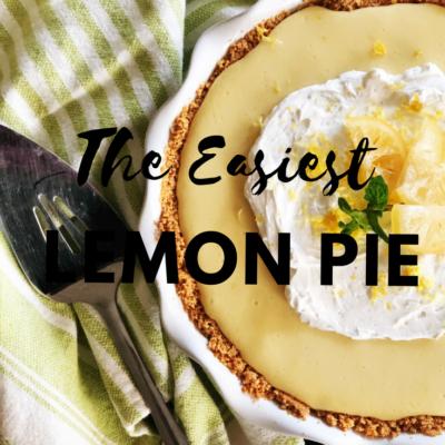 The Easiest Lemon Pie