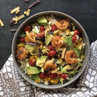 Easy Shrimp Mesquite Salad